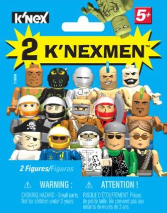 KNEX KNEXmen Mystery Figures