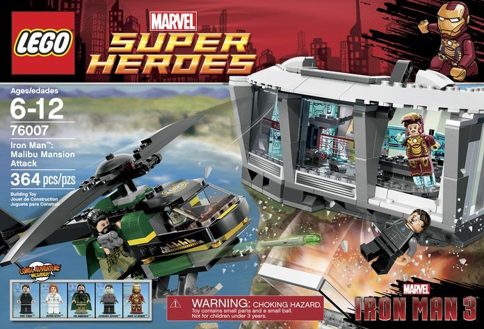 LEGO 76007 Iron Man- Malibu Mansion Attack