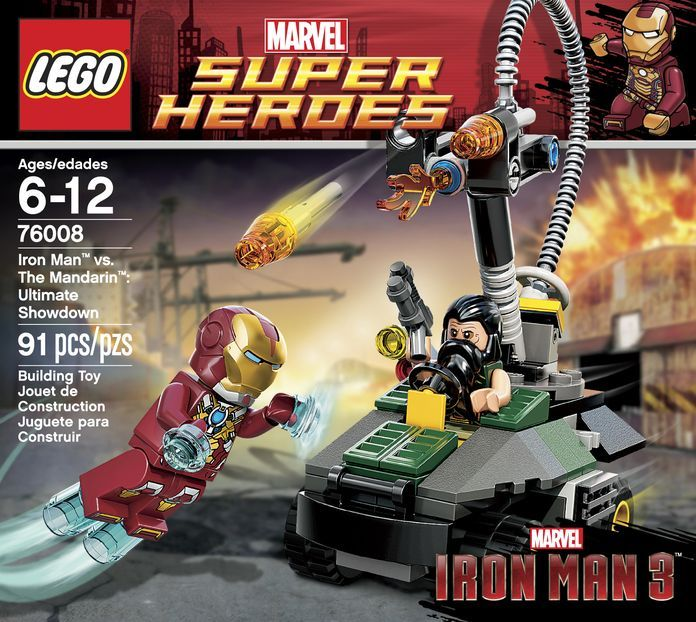LEGO 76008 Iron Man vs. The Mandarin- Ultimate Showdown