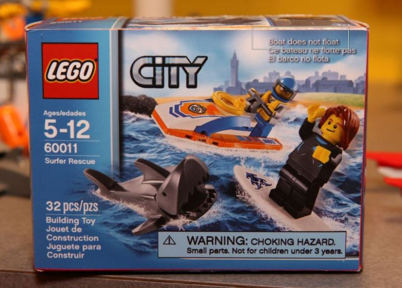 LEGO City 60011 Surfer Rescue