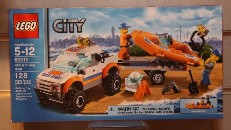 LEGO City 60012 4×4 & Diving Boat
