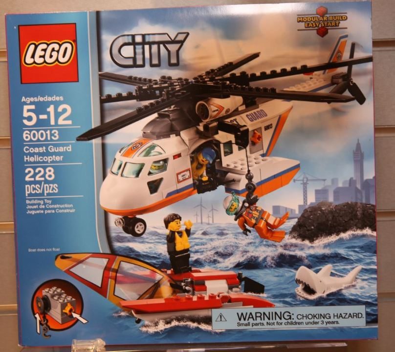 LEGO City 60013 Coast Guard Helicopter