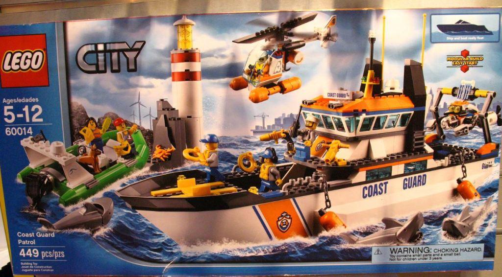 LEGO City 60014 Coast Guard Patrol