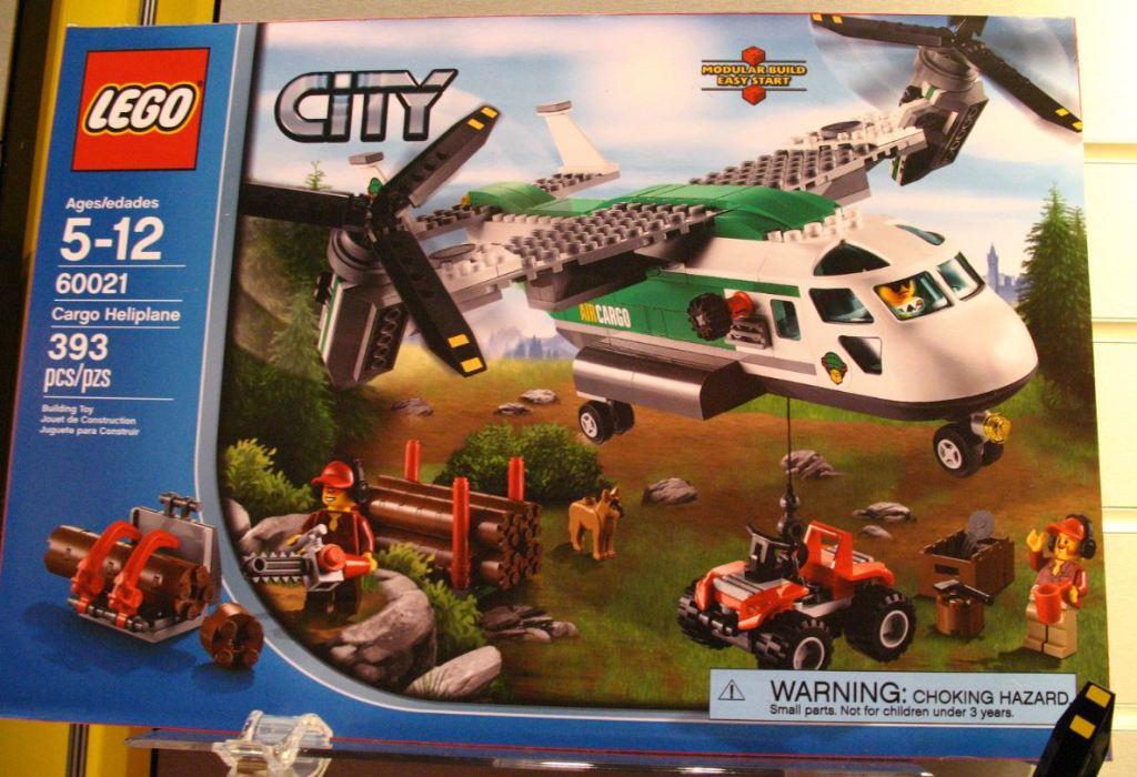 LEGO City 60021 Cargo Heliplane