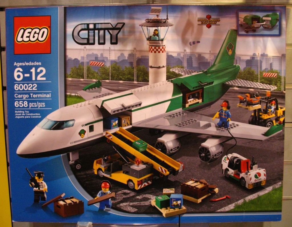 LEGO City 60022 Cargo Terminal