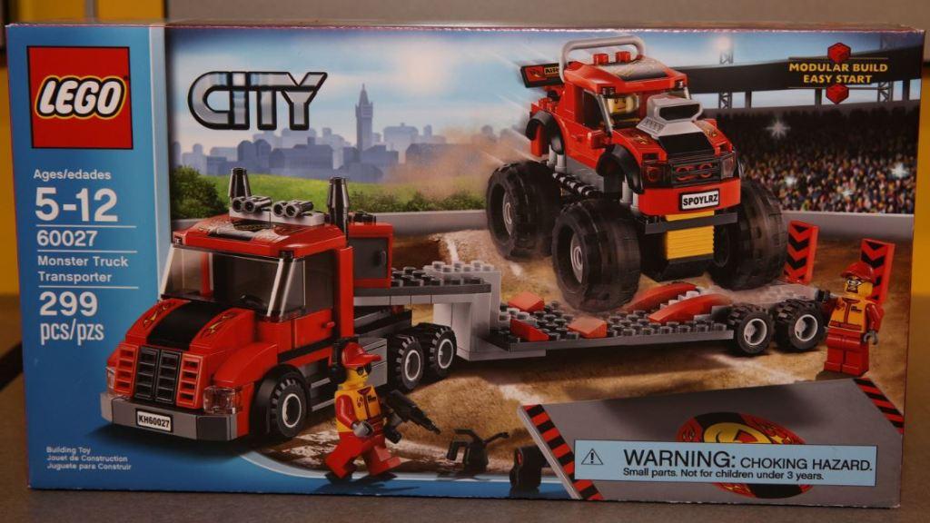 LEGO City 60027 Monster Truck Transporter