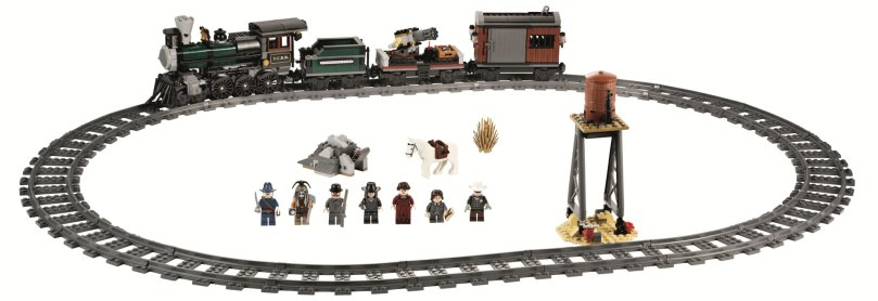 LEGO The Lone Ranger 79111 Constitution Train Chase Set