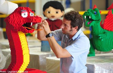 LEGOLAND Malaysia LEGO Snake-Chinese New Year