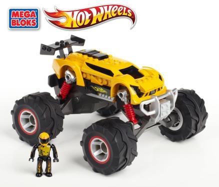 Mega Bloks Hot Wheels 2013-Super Blitzen Monster Truck