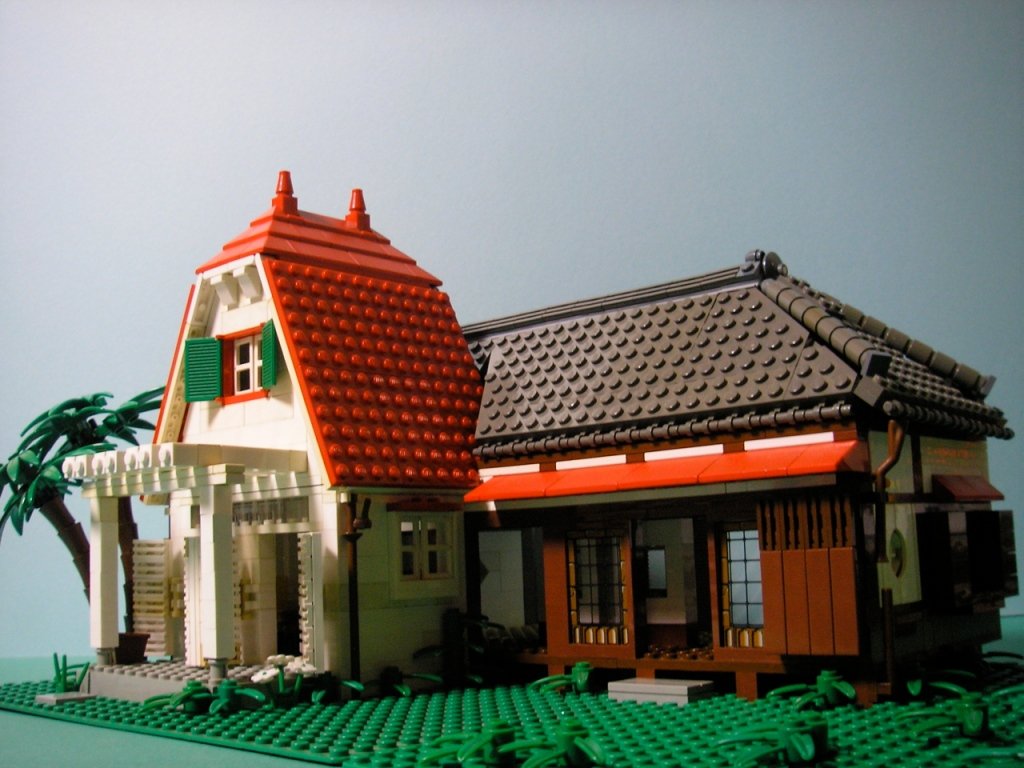 My Neighbor Totoro LEGO Satsuki and Mei House