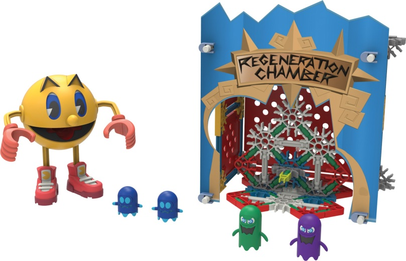 Pac-Man and Ghosts KNEX