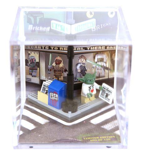 Toy Fair 2013 Exclusive Yoda LEGO Set