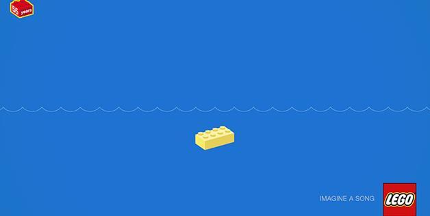 Yellow Submarine LEGO Puzzle