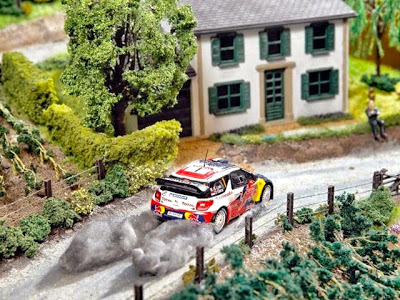 Citroen DS3 Rally Scale Model 4
