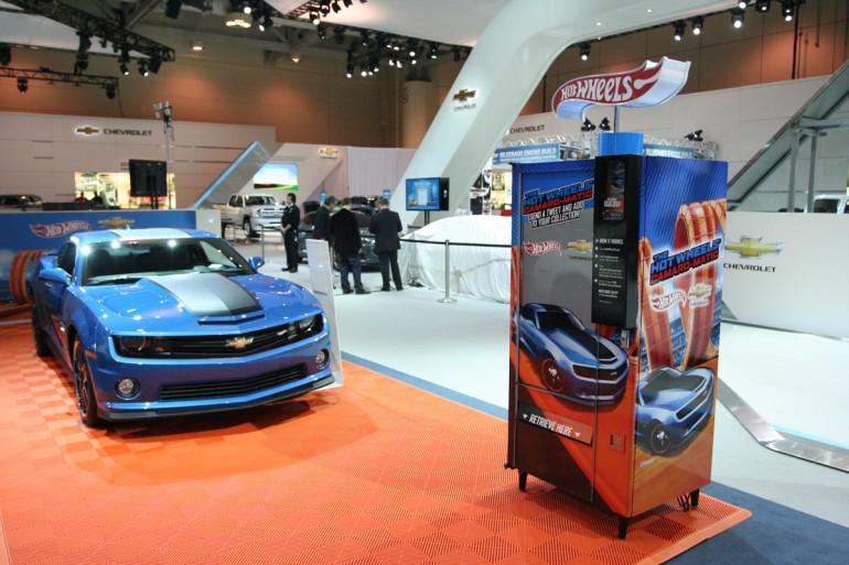 Hot Wheels Vending Machine - Camaro-Matic
