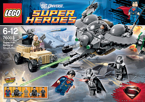 LEGO DC Universe Super Heroes 76003 Superman- Battle of Smallville