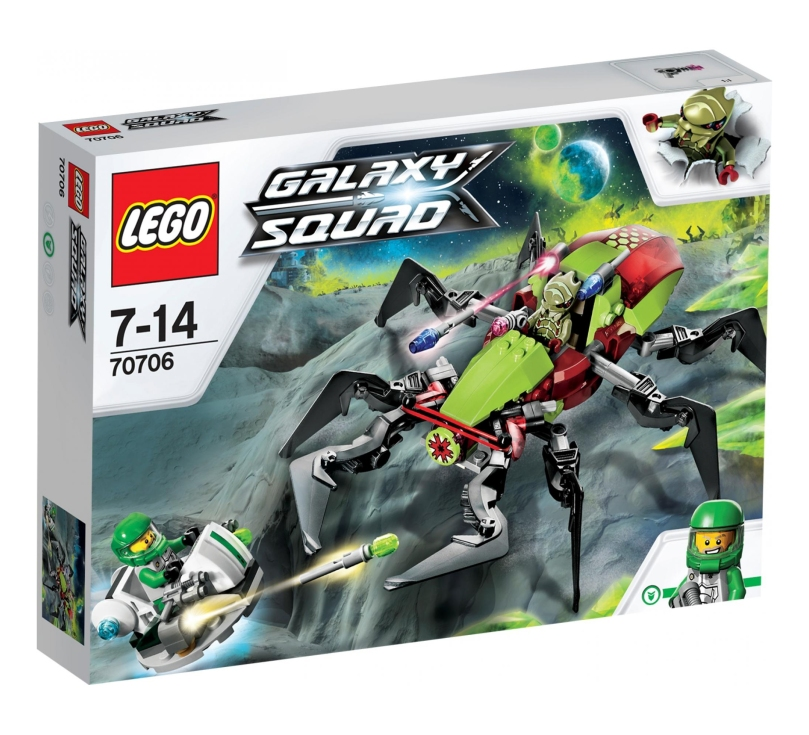 LEGO Galaxy Squad70706 Crater Creeper