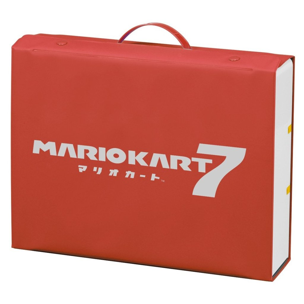 Mario Kart 7 Panorama Circuit Tomica Storage Bag
