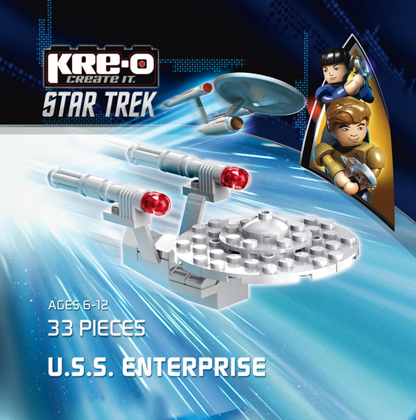 Star Trek The Video Game Pre-Order Bonus Kre-O USS Enterprise