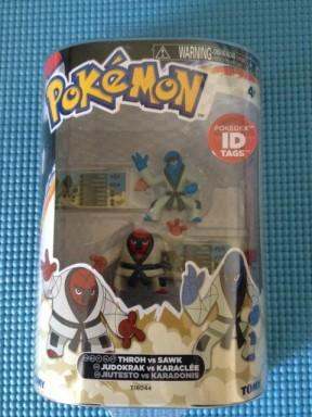 Tomy Pokemon Throh vs. Sawk Figure Pack Box