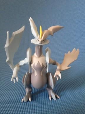 Tomy Pokemon White Kyurem Figure Front
