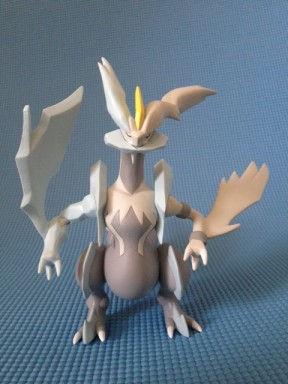 Tomy Pokemon White Kyurem Figure Front