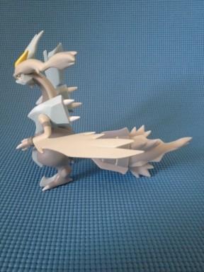 Tomy Pokemon White Kyurem Figure Side