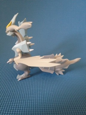 Tomy Pokemon White Kyurem Figure Side
