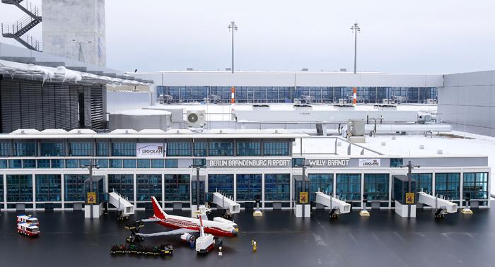 LEGO Berlin Brandenburg Airport Terminal