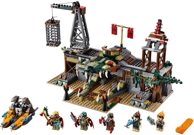 LEGO Chima 70014 Croc Swamp Hideout