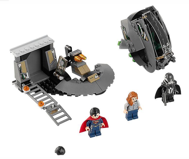 LEGO DC Universe Superman Black Zero Escape 76009 Set