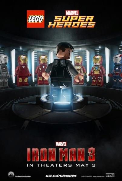 LEGO Iron Man 3 Movie Poster Teaser
