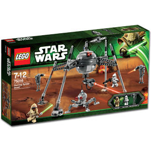 LEGO Star Wars 75016 Homing Spider Droid Box