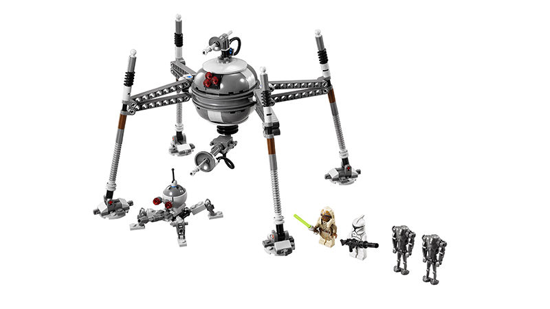 LEGO Star Wars 75016 Homing Spider Droid Set