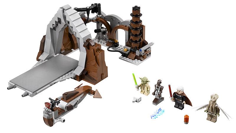 LEGO Star Wars 75017 Dual on Geonosis Set