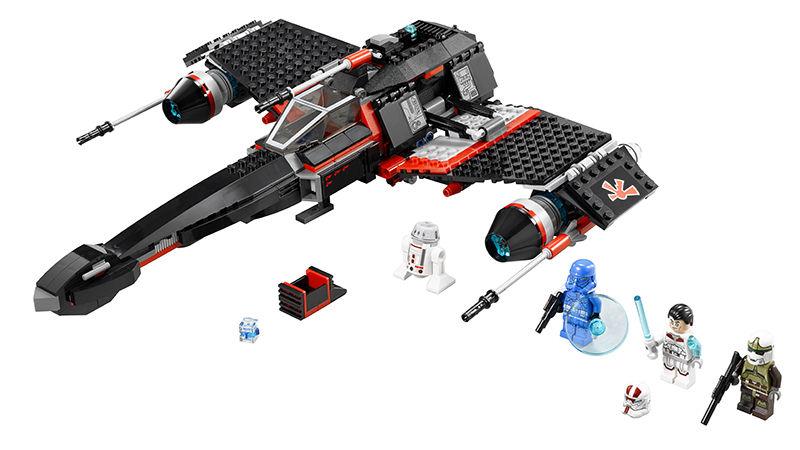 LEGO Star Wars 75018 JEK-14′s Stealth Starfighter Set
