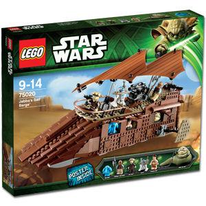 LEGO Star Wars 75020 Jabba's Sail Barge Box