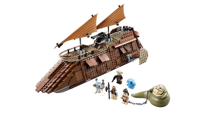 LEGO Star Wars 75020 Jabba's Sail Barge Set