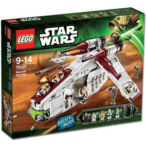 LEGO Star Wars 75021 Republic Gunship Box