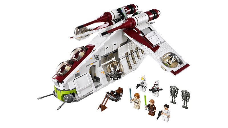 LEGO Star Wars 75021 Republic Gunship Set