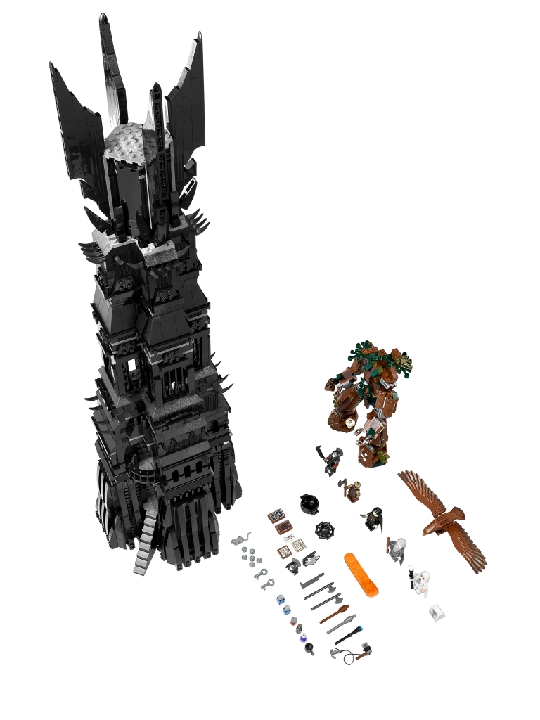 LEGO The Lord Of The Rings 10237 Tower of Orthanc Set