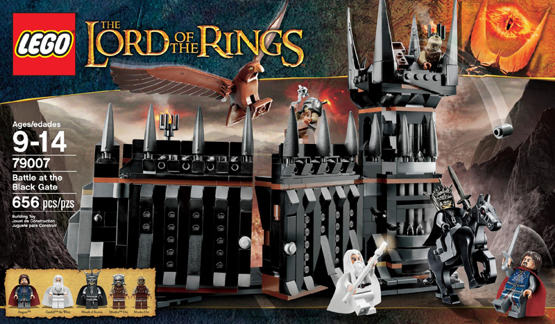 LEGO The Lord Of The Rings 79007 Battle at the Black Gate Box