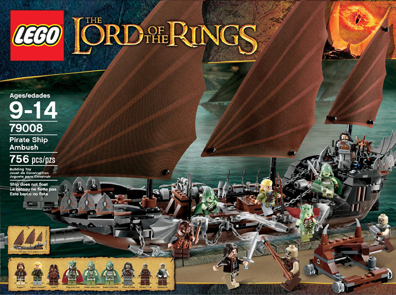 LEGO The Lord Of The Rings 79008 Pirate Ship Ambush Box