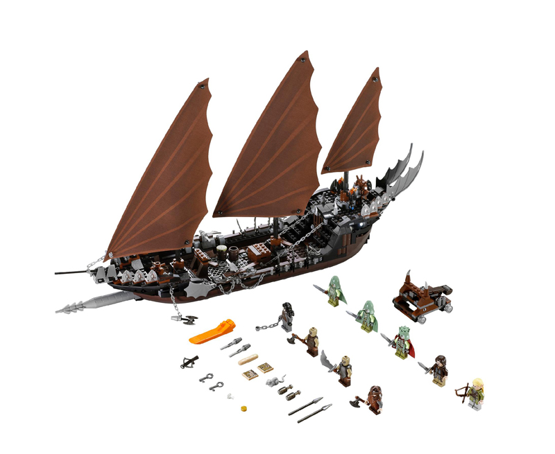 LEGO The Lord Of The Rings 79008 Pirate Ship Ambush Set