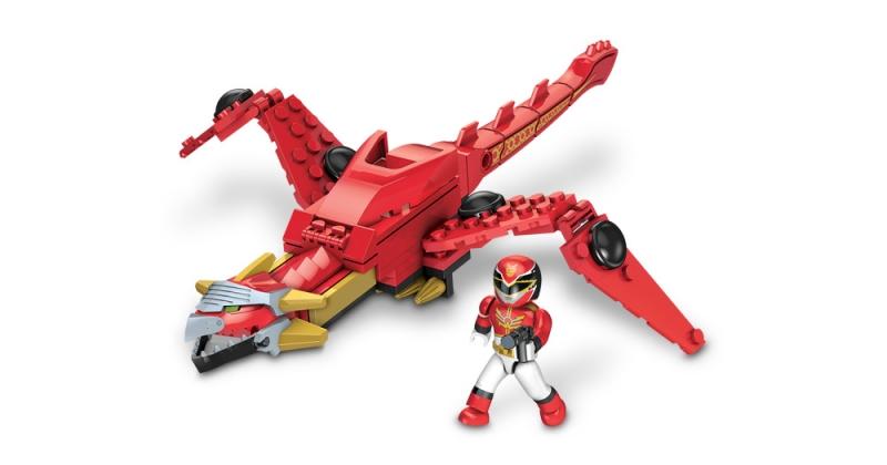 Mega Bloks Power Rangers Megaforce Dragon Mechazord