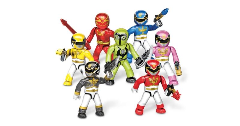 Mega Bloks Power Rangers Megaforce Micro Action Figures Series 1