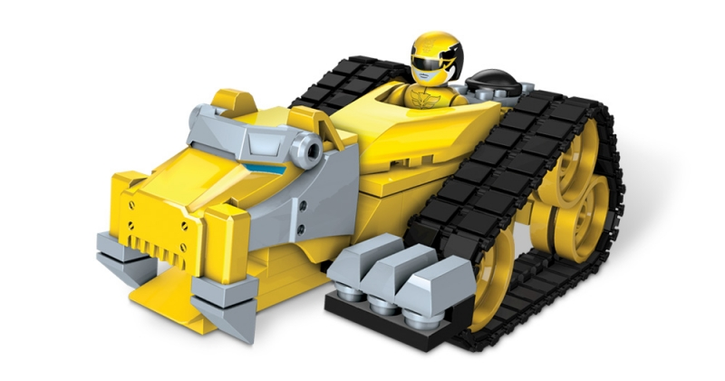 Mega Bloks Power Rangers Megaforce Tiger Mechazord