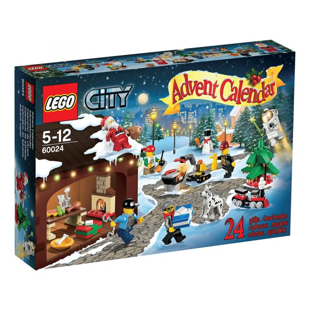 2013 LEGO City Advent Calendar 60024 Box