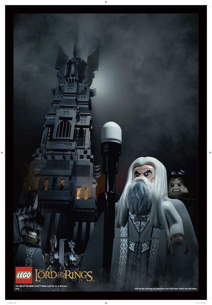 LEGO 10237 Tower of Orthanc-Saruman