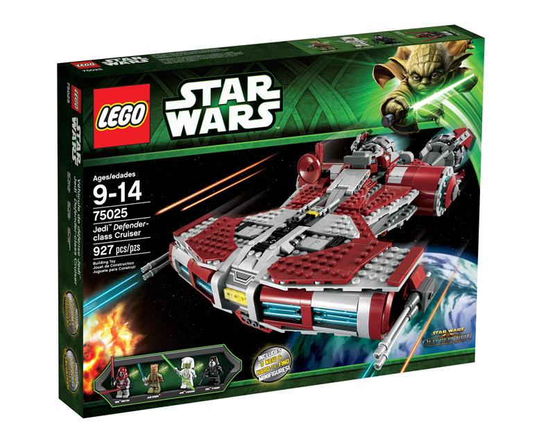 LEGO Star Wars 75025 Jedi Defender-class Cruiser Box
